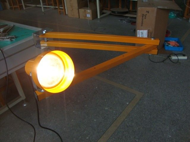 "Heavy Duty 60"" LED Loading Dock Lights , Flex Arm LED Dock Light Fixtures"