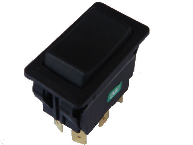 AC Electric Power Switch On Off On Momentary 4 Terminal Black Color